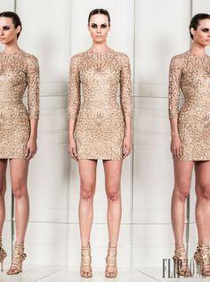 Zuhair Murad - Prêt-à-porter - Primavera-Verão 2014 - http://pt.flip-zone.com/fashion/ready-to-wear/fashion-houses-42/zuhair-murad-4209