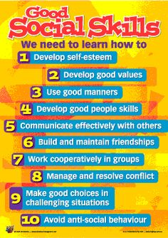 Building good social skills, at any age - Behaviour Management Toolkit