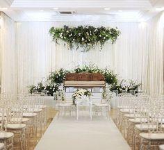 Solemnization of Tasha & Fitri - Kahwin - Wedding Wedding Backdrop Design, Wedding Hall Decorations, Rustic Wedding Backdrops, Wedding Reception Backdrop, Wedding Seating, Wedding Background, Wedding Preparation, Weed, Malay Wedding