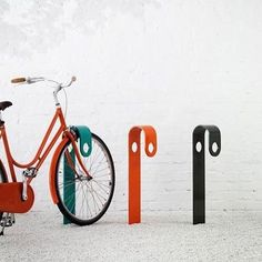 HooK bicycle stand.