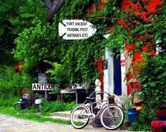 Antique Shop in Ft. Ancient, Ohio