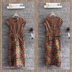 Batik Sogan Halus + Tenun Lurik Sorjan + Lining Tricot, by Gendhis' Batik