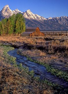 ✯ Barn in Grand Tetons National Park