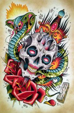#Tattoos Dave Tevenal - Columbus, Ohio