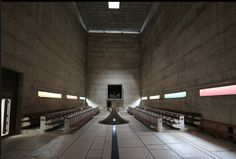 """Anish Kapoor & le Corbusier """"Couvent de la Tourette"""", France 2015"""