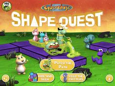 PBS KIDS Launches New Augmented Reality App: Cyberchase Shape Quest : PBS
