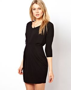 ASOS Front Pleat Dress