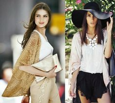 Looks com jaqueta estilo Kimono japonês. Você usaria?  - Foto 01