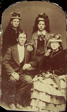 Victorian Era Teenagers ... a little different look from today's