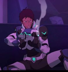 rangergirl3:  voltronturd:  Keith and Lance's smug smiles during a fight that has literally almost killed them is the reason why I wake up in the morning.   They laugh in the face of danger, hahahahah  They ain't no one's bitch.