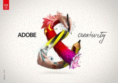 Adobe & on the Behance Network