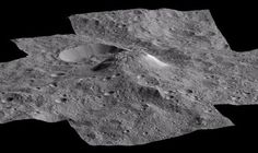 Look at this weird mountain rising from the surface of the dwarf planet Ceres