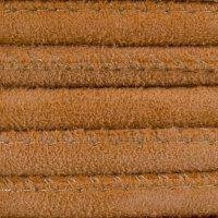Round Stitched Suede, 5.0mm, Orange. #leather #yeahwemakethat