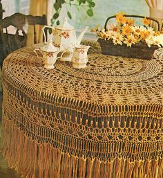 Crochet tablecloth crochet pattern pdf filet crochet circular thread crochet pattern crochet tablecloth pattern crochet home decor housewarming gift idea dt1010fo