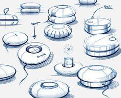 Design Sketches & Illustrations 2019 (Part on Behance Interaktives Design, Page Layout Design, Sketch Design, Sketch Inspiration, Design Inspiration, Isometric Drawing Exercises, Tree Sketches, Fashion Design Portfolio, Industrial Design Sketch