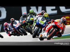 MotoGP, one of the only sports I find exciting to watch.