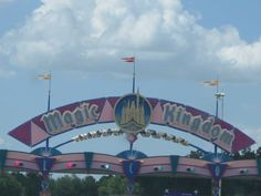 The road to the Magic Kingdom