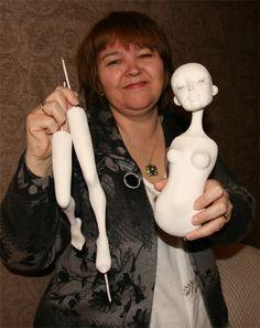 Авторские куклы из полимерных пластиков - Просмотр темы - Форумы на HobbyPortal.ru