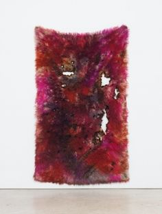 The artist does a delicate dance of destruction with her haunting neo-abstractionist textiles.