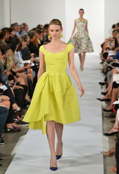 Oscar De La Renta - Runway - Mercedes-Benz Fashion Week Spring 2014