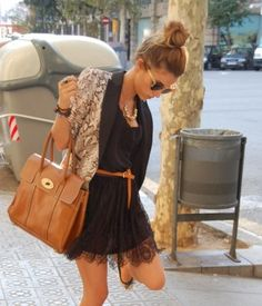 lace and bag