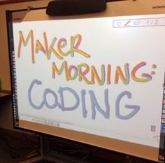 Maker Morning: Coding Ideas for Hour of Code – Mrs. J in the Library Maker Morning: Coding Ideas for Hour of Code Maker Morning: Coding Ideas for Hour of Code Computer Programming, Computer Science, Elementary Computer Lab, 21st Century Learning, Coding For Kids, Library Lessons, Library Programs, Learn To Code, Educational Technology