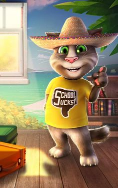 Talking Tom Cat 2– captură de ecran