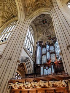 Bath Abbey Pipe Organ