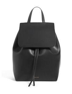 Mansur Gavriel Backpacks Large Leather Backpack