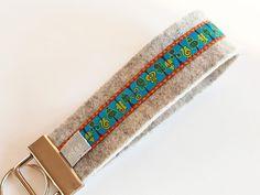 "Edles Filzschlüsselband: ""Bäume"" von miss rosaly auf DaWanda.com Tie Clip, Accessories, Fashion, Felting, La Mode, Fashion Illustrations, Fashion Models"