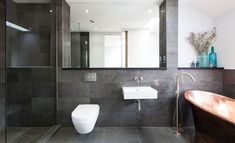 stylish bathroom  - Fifty Shadows of gray for your home