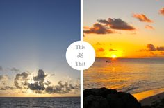 Sunrise or Sunset? What do you prefer?