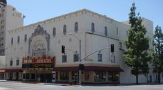 Wilson Theater, Fresno, California USA, constructed in 1926