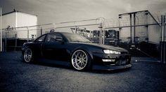 nissan silvia sport car black