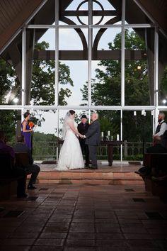 Loughridge Wedding at Kirkland Chapel #LoughridgeWedding #Wedding #Tulsa #WeddingVenue