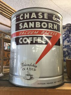 Chase & Sanborn Vacuum Packed Coffee 15lb
