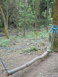 An obstacle course would be fun…maybe an easier route for kids, and more chall… – natural playground ideas Kids Outdoor Play, Outdoor Play Spaces, Outdoor Learning, Backyard For Kids, Outdoor Fun, Outdoor Activities, Backyard Ideas, Outdoor Toys, Summer Activities