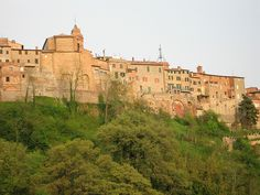 I lived in these medieval walls (the house to the right of the last arch) in 2006 in Umbria.