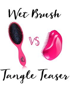 Wet Brush VS Tangle Teaser