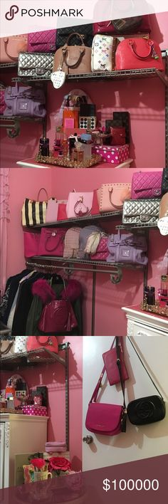 ✨✨Just Sharing my Closet  ✨✨ Sharing my closet and obsession with handbags and luxury goods .  ... If you see anything you like comment below .. And maybe I can sell or trade  Michael Kors Bags