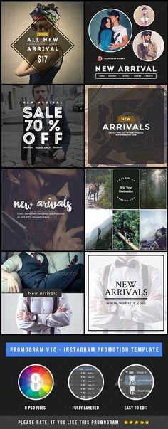 Promogram 10 - Instagram New Arrival Promotional Template