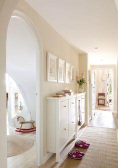 Front Entrances, House Tours, Oversized Mirror, Ikea, Interior Design, Bedroom, Furniture, Home Decor, Decorating Ideas