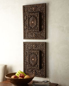 Moroccan Wall Art | ... moroccan wall decor accents polyvore wood wall plaque moroccan wall