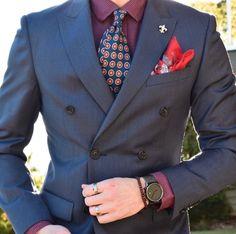 Fall fashion with jewel tones.