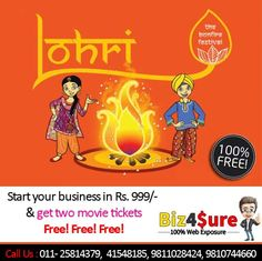 Wish You Very #Happy #Lohri and #Makar #Sankranti!!! is one of the important #festival of Indian #people specially for #Punjab. -> #Online #Marketplace in Karol Bagh #Delhi #NCR #India -> Create #Free #Website Services -> #Business Listing #Services -> #Grow Your Business With US    +91-1125814379 | +91-11-41548185 | +91-11-45528185 | +91-9811028424