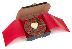 Romanttinen suklaapizza - Anna jollekin ihanalle ihmiselle lahjaksi pizzallinen rakkautta!