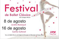 Campomaiornews: Festival de Ballet Clássico de Campo Maior apresen...