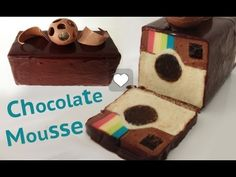 ▶ Instagram DESSERT chocolate mousse recipe cake HOW TO COOK THAT Ann Reardon - YouTube