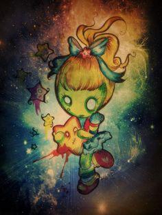 Rainbow Bright- cool tattoo idea ;)