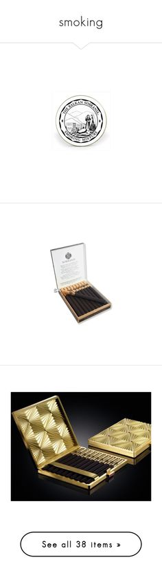 """""""smoking"""" by xandra-black ❤ liked on Polyvore featuring cigarette, camel, sobraine, ashtray, Smoke, smoking, ArtStuff, home, home decor and office accessories"""